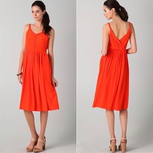 Rebecca Taylor All Tied Up Silk Dress